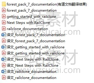 forest_pack7_documentation railclone_documentation forest_pack7中文帮助文档 railclone中文帮助文档 getting_started_with_railclone Next Steps with RailClone插图